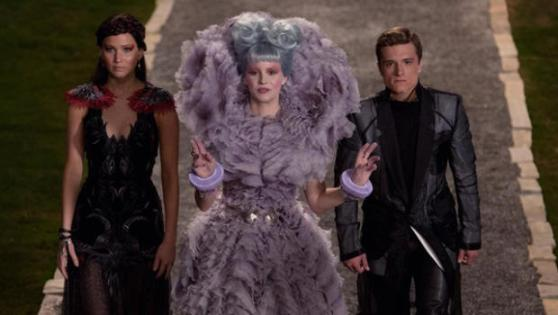 The Hunger Games: Catching Fire - Katniss, Effie and Peeta